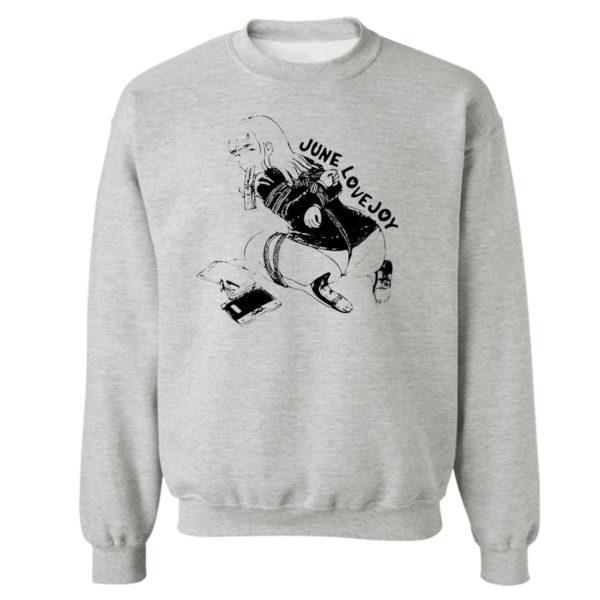 Sweetshirt sport grey Lovejoy Ropeplay Ver T Shirt