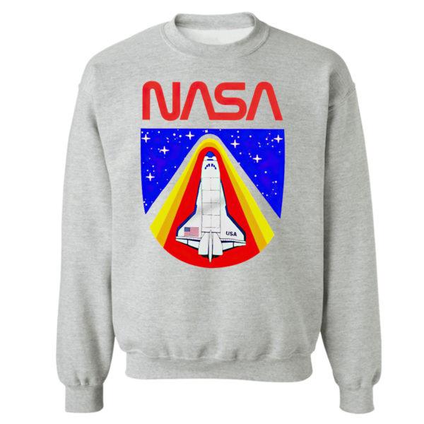 Sweetshirt sport grey Random Red World Spaceship Nasa shirt Tank top