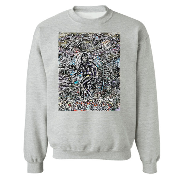 Sweetshirt sport grey The Hermit Sasquatch Bigfoot shirt