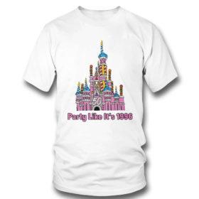 T Shirt 50th anniversary case castle party like its 1996 littleshopofgeeks merch shirt