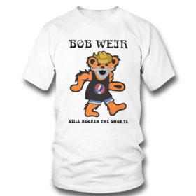 T Shirt Grateful Dead Bear Bob weir still rockin the short shirt