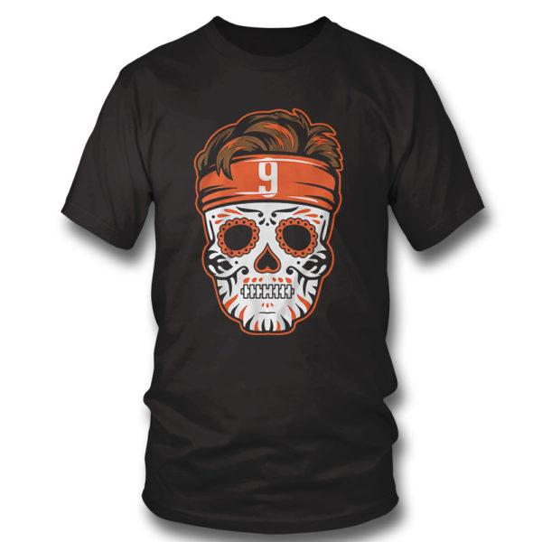 T Shirt Joe Burrow Sugar Skull Shirt