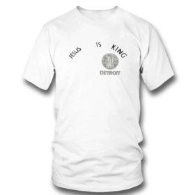 T Shirt Kanye west jesus is king t shirt