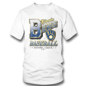 T Shirt Milwaukee Brewers 47 Tubular shirt