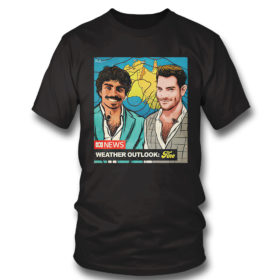 T Shirt Original nate Byrne abc news weather outlook fine shirt