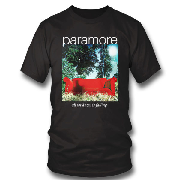 T Shirt Paramore merch all we know is falling shirt