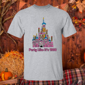 T Shirt Sport grey 50th anniversary case castle party like its 1996 littleshopofgeeks merch shirt