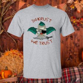 T Shirt Sport grey In Krust We Trust t shirt