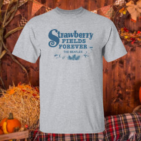 T Shirt Sport grey Strawberry Fields Forever The Beatles Shirt