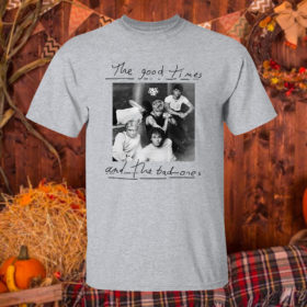 T Shirt Sport grey The good times and the bad ones Why dont we shirt