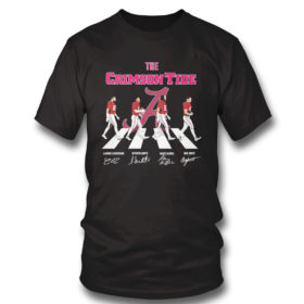 T Shirt The Crimson Tide Abbey Road signatures shirt