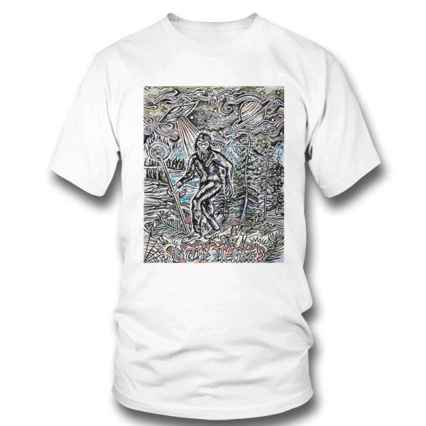 T Shirt The Hermit Sasquatch Bigfoot shirt