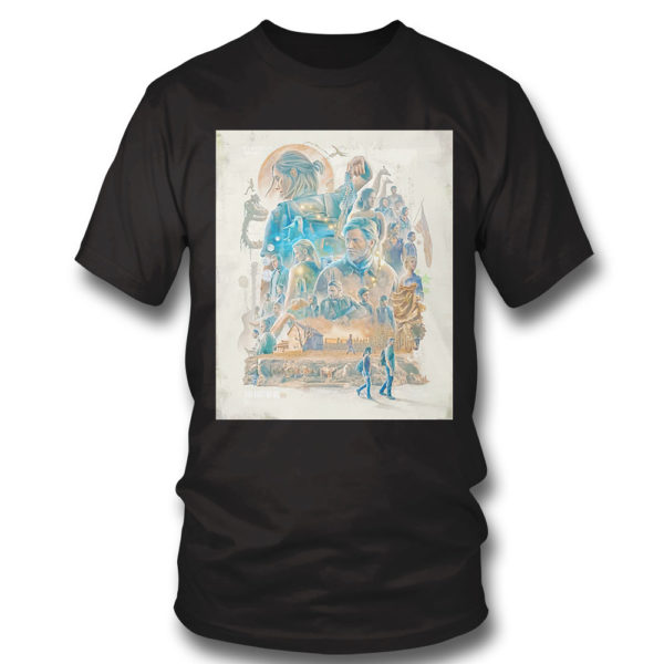 T Shirt The Last of Us Poster shirt
