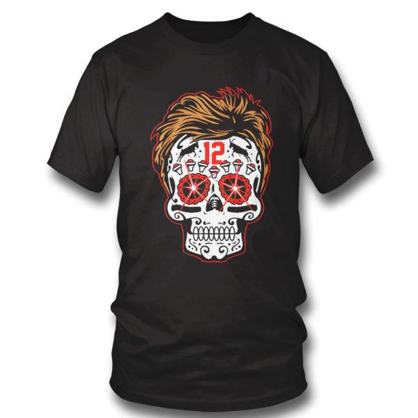 T Shirt Tom Brady Sugar Skull Shirt