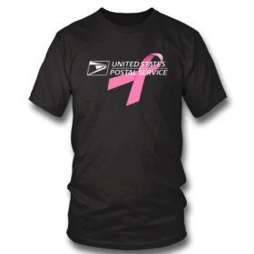 T Shirt USPS United States Postal Service Breast Cancer Awareness Shirt