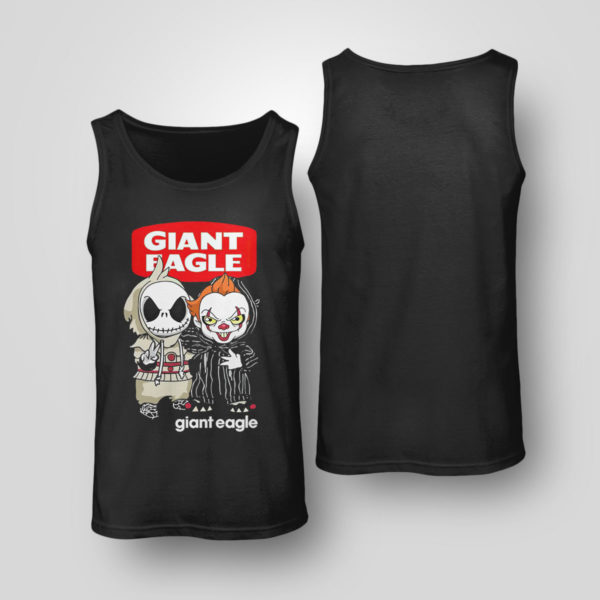 Tank Top Baby Jack Skeleton and Baby Pennywise Giant Eagle shirt