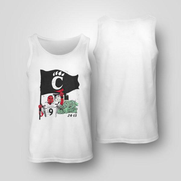 Tank Top Cincinnati 24 13 flag shirt