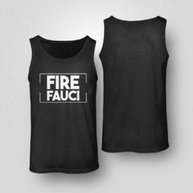 Tank Top Fire Fauci Shirt Fauci Lied Shirt
