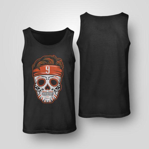 Tank Top Joe Burrow Sugar Skull Shirt