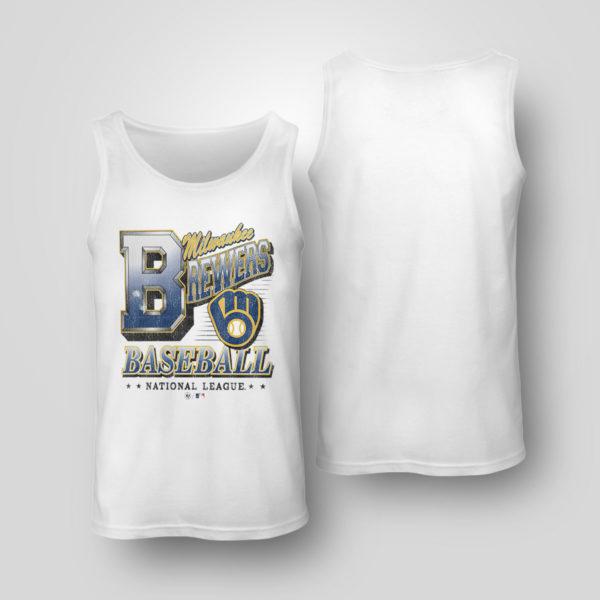 Tank Top Milwaukee Brewers 47 Tubular shirt