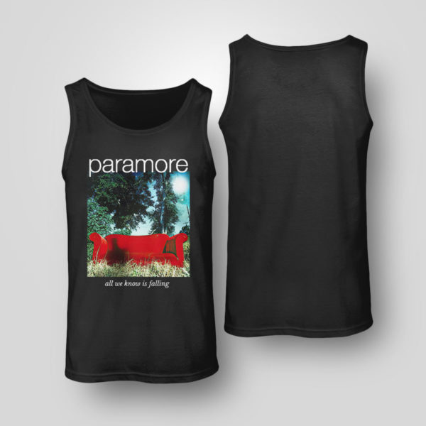 Tank Top Paramore merch all we know is falling shirt