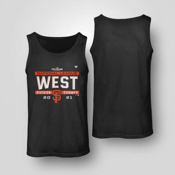 Tank Top Postseason NL West Division Champs San Francisco Giants Shirt