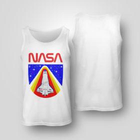 Tank Top Random Red World Spaceship Nasa shirt Tank top