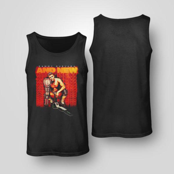 Tank Top Sammy Guevara And New Shirt