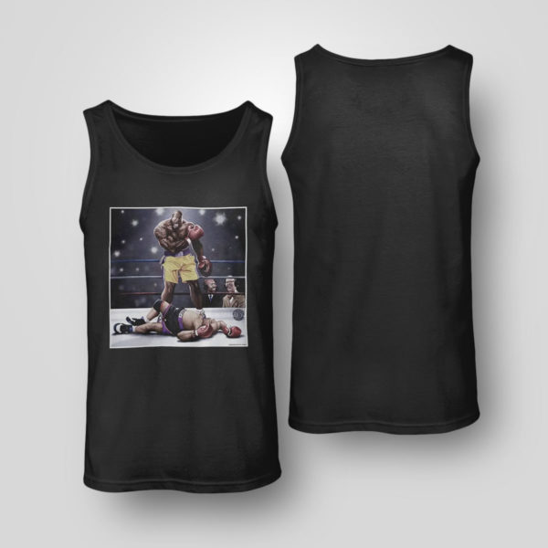 Tank Top Shaquille O Neal And Chuck Knockout Shirt