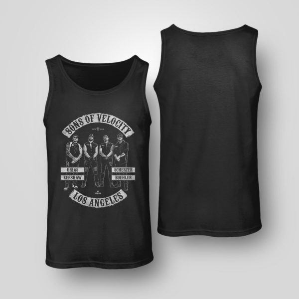 Tank Top Sons of Velocity Urias Kershaw Scherzer Buehler Los Angeles shirt