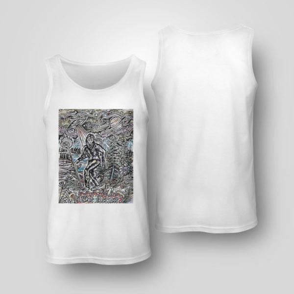Tank Top The Hermit Sasquatch Bigfoot shirt