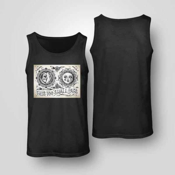 Tank Top This Too Shall Pass Cute Traditional Tattoo Flash T shirt