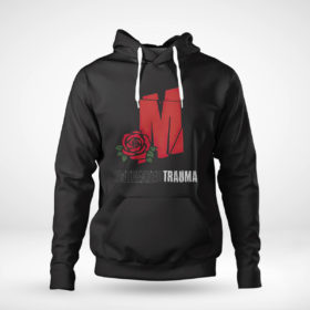 Unisex Hoodie Mozzy Untreadted Trauma T Shirt
