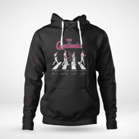 Unisex Hoodie The Cardinals Abbey Road signatures shirt