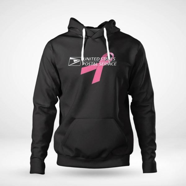 Unisex Hoodie USPS United States Postal Service Breast Cancer Awareness Shirt