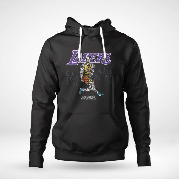 Unisex Hoodie Warren Lotas NBA Team LA Lakers Lebron Shirt