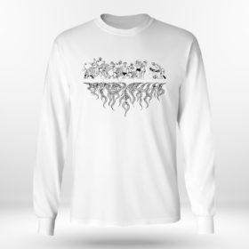 Unisex Longsleeve shirt Darby Allin Up In Flames Shirt