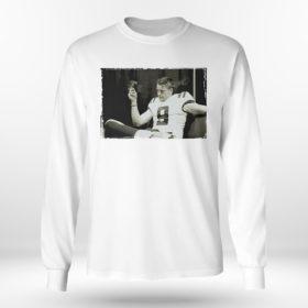 Unisex Longsleeve shirt Joe Burrow Smoking Cigar T Shirt