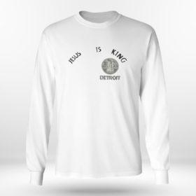 Unisex Longsleeve shirt Kanye west jesus is king t shirt