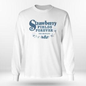 Unisex Longsleeve shirt Strawberry Fields Forever The Beatles Shirt
