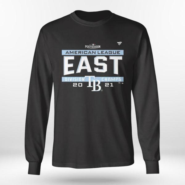 Unisex Longsleeve shirt Tampa Bay Rays AL East Champions Shirt
