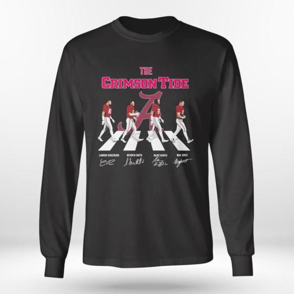 Unisex Longsleeve shirt The Crimson Tide Abbey Road signatures shirt