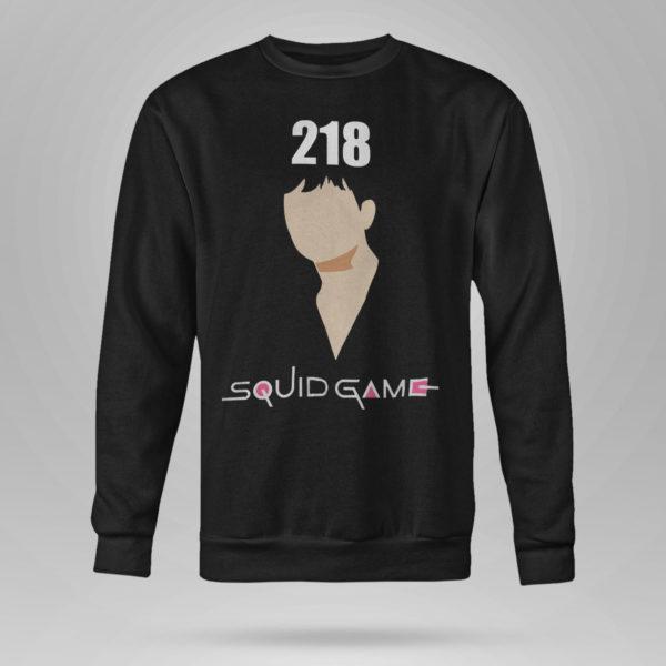Unisex Sweetshirt Squidgame shirt 218