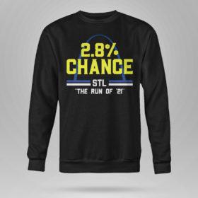 Unisex Sweetshirt St Louis 2 8 Chance Stl The Run Of 2021 Shirt