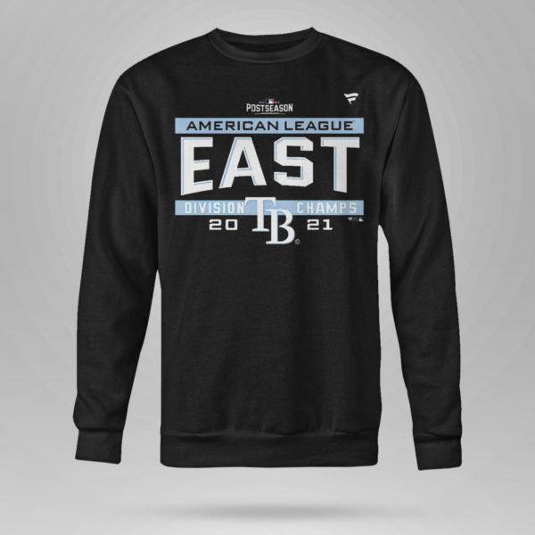 Unisex Sweetshirt Tampa Bay Rays AL East Champions Shirt