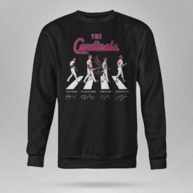 Unisex Sweetshirt The Cardinals Abbey Road signatures shirt