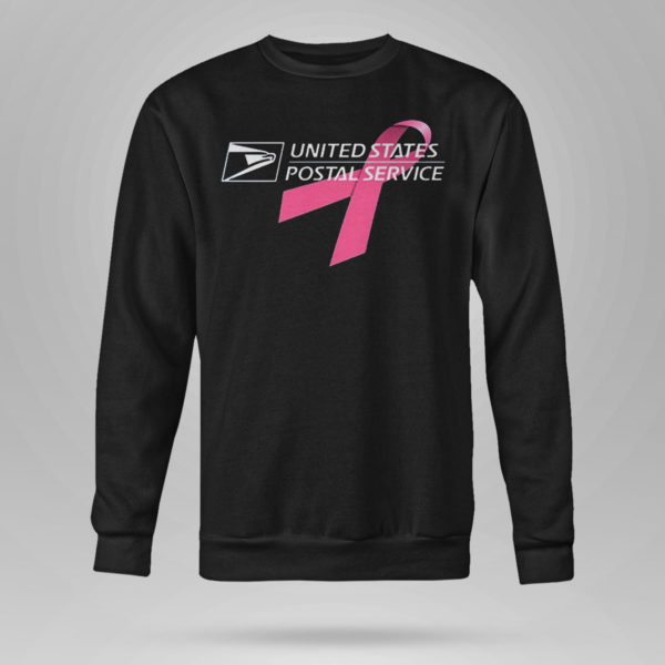 Unisex Sweetshirt USPS United States Postal Service Breast Cancer Awareness Shirt