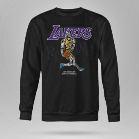 Unisex Sweetshirt Warren Lotas NBA Team LA Lakers Lebron Shirt