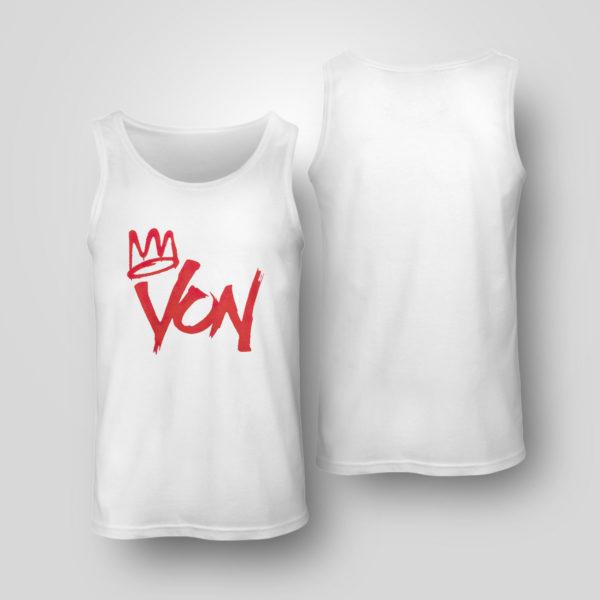 Unisex Tank Top King Von Shirt
