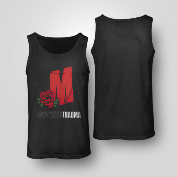 Unisex Tank Top Mozzy Untreadted Trauma T Shirt
